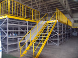 High Density Multi-Tier Mezzanine Flooring Shelving System