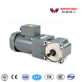 Wanshsin AC Induction Motor/Gear Motor with Right Angle Solid Gearbox