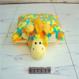 High Quality 100% Cotton Fabric Polyester Square Cushion for Home