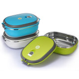 900ml Stainless Steel Bento Lunch Box with Handle 22147