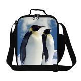 Full Printing 3D Effect Polyester Insulated Shoulder Lunch Bags for Kids