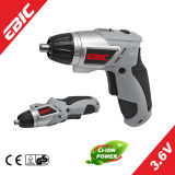 Ebic 3.6V Li-ion Cordless Screwdriver/in Electric Screwdriver for Sale