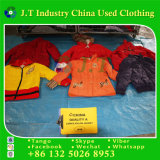First Class Quality Mixed Used Winter Clothes Ladies Nylon Jacket in Bales