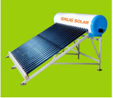 High Quality Compact Unpressurized All Glass Vacuum Tubesolar Water Heater