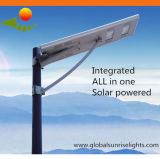 2015 Newest Outdoor Solar Street Light All in One with PIR Sensor