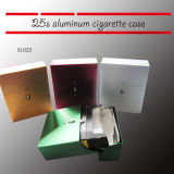 Automatic Open Aluminum Cigarette Case 25s Cigarette Pack