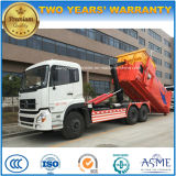 10 Wheels 25 Cbm Heavy Duty Hook Arm Truck with Conjoint Compress Garbage Box