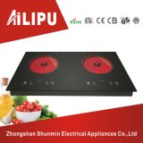 4kw Double Infrared Cooker/Two Burners Ceramic Hob/Double Hotplate Electric Cooktop/Kitchen Appliance
