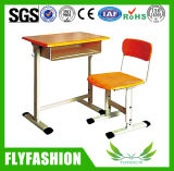 Wooden School Furniture Student Desk and Chair Sets (SF-11S)