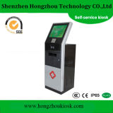 19 Inch Self Service Touch Screen Kiosk with Printer