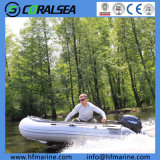Inflatable Pontoon Boat Fishing Boat Hsd460