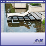 New Design Classic Outdoor Patio Furniture, Brown Wicker Pool Sun Chaise Lounge Chair (J4285)