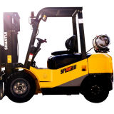2ton 3 Ton Nissan Engine Dual Fuel Gas LPG Forklift with Ce Certificate