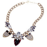 Fashion Big Charm Pendant Necklace (XJW13159)
