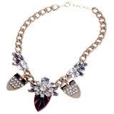 Fashion Big Charm Pendant Necklace (XJW13159)