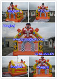 Simple Clown Inflatable Castle for Happy Fun (MIC-858)