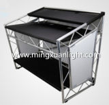 Outdoor Stage Performance Portable Aluminum Folding Truss DJ Booth