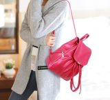 Stylish Pure Color Backpack Bags 2016fh