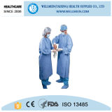 Sterile Disposable Surgical Gown Patient Hospital Gowns for Men