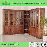 Chinese Luxury Solid Wood Bedroom Hotel Furniture (LX-8L4J)
