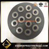 Prestressed Concrete Yjm13/15X12 Holes Anchor Head