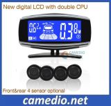 2016 New Digital LCD Display Car Reverse Rear Radar System with 4/6/8 Sensor Optional