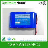 12V 5ah Lithium Battery for LED Light Wind Solar Lamp
