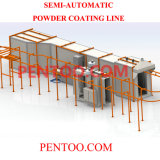 Auto Powder Coating Line with Win Output and Input System