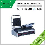 4 Heating Element Electric Contact Grill