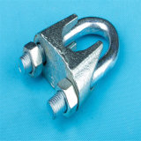 Electric Galvanized Malleable Iron Casted DIN741 Wire Rope Clip