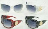Diamond Decoration Fashionable Hot Selling Sunglasses (MS13051)