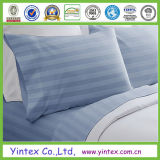 High Quality Sky Blue Popular 100% Microfiber Bedding Set/ Bed Sheet