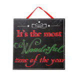Wooden Plaques Wall Decoration or Home Decoration in Stock