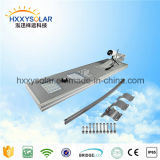 5 Years Warranty ISO Certified 40W Solar LED Street Light with CCTV