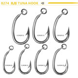 Longline Fishing Stainless Steel Tuna Hook with Ring