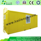 20ft Prefabricated Container Rooms Vivid Workshop Data Used Refrigerated Container House (yellow)