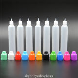 15ml 30ml Unicorn Long Dropper Bottle Tip Childproof Cap Plastic LDPE All Black