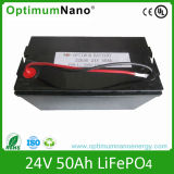 24V 50ah LiFePO4 Battery Pack for Electric Vehicles