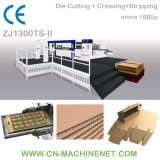 Zj1670ts-II Automatic Flaten Die Cutting Corrugated Paper Carton Machine