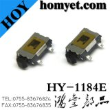 SMD Tact Switch with 7.5*5*2mm 4pin Side Button (HY-1184E)