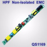 12-23W Hpf Non-Isolated Tube Light Power Supply with EMC QS1169