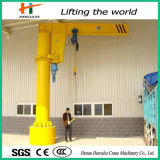 High Quality Slewing Jib Crane with Wire Rope Hoist