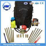 Hand Held 15-20m Depth Backpack Sampling Drill Machine