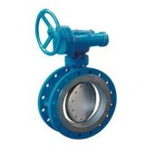 Triple Eccentric Flanged Butterfly Valve Pn25
