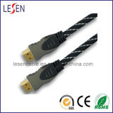 19-Pin HDMI Cable with Nylon Sleeve
