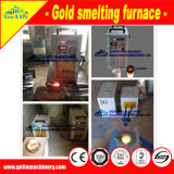 Induction Gold Smelt Furnace Gold Refine Machine for Precious Metal Mineral Processing