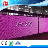 Pink Color Advertising Text & Image Display P10 LED Module