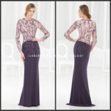Unique Sheath Applique Chiffon Mother of Bride Evening Dresses Z7029
