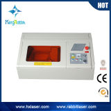 Mini Stamp Laser Engraving Machine on Desktop