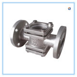 Stainless Steel Casting Straight Valve in RF End